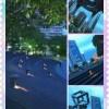 iPhoneアプリで組み写真をつくってました☆
